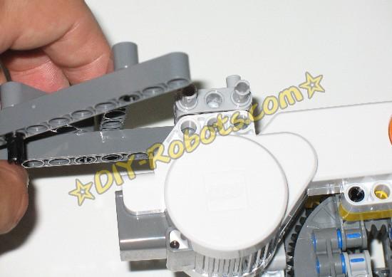 支架和电机连接