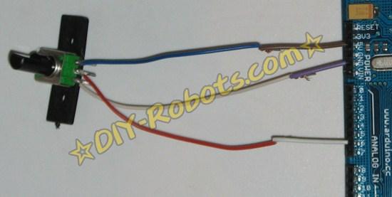 电位器接线