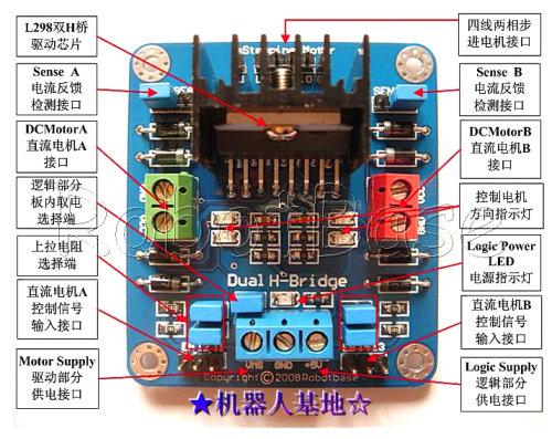 直流电机控制板