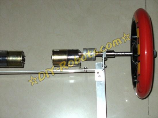 轮子和直流电机