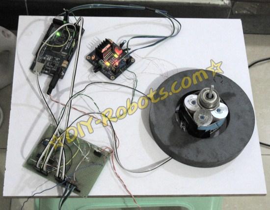 下推式磁悬浮接线图