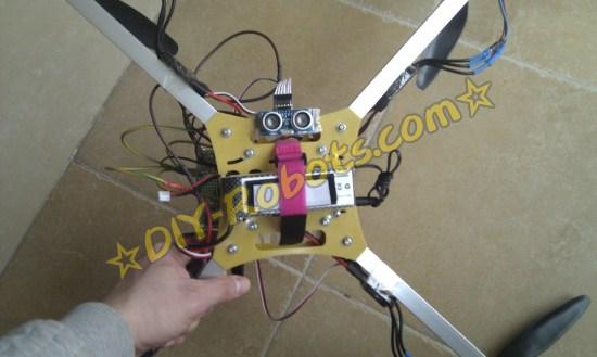四轴飞行器上的超声波测距传感器