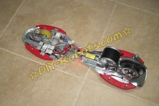 滑板车底部
