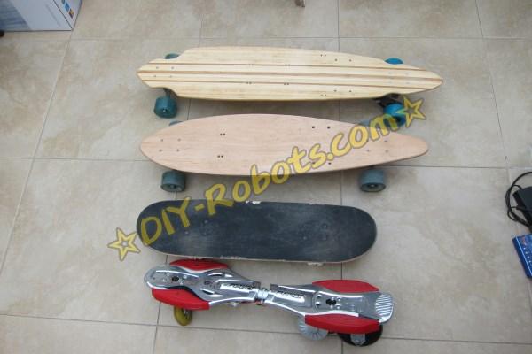 各种版本的电滑板