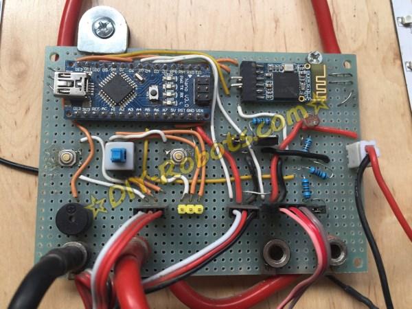 电滑板控制电路